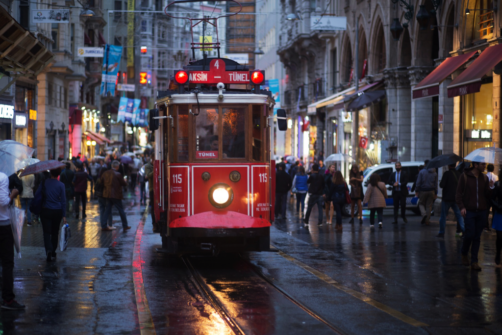 A Rainy Day in Istanbul