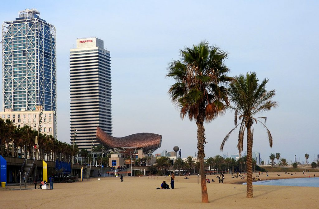 Is Barcelona, Spain the most beautiful city in Europe?
