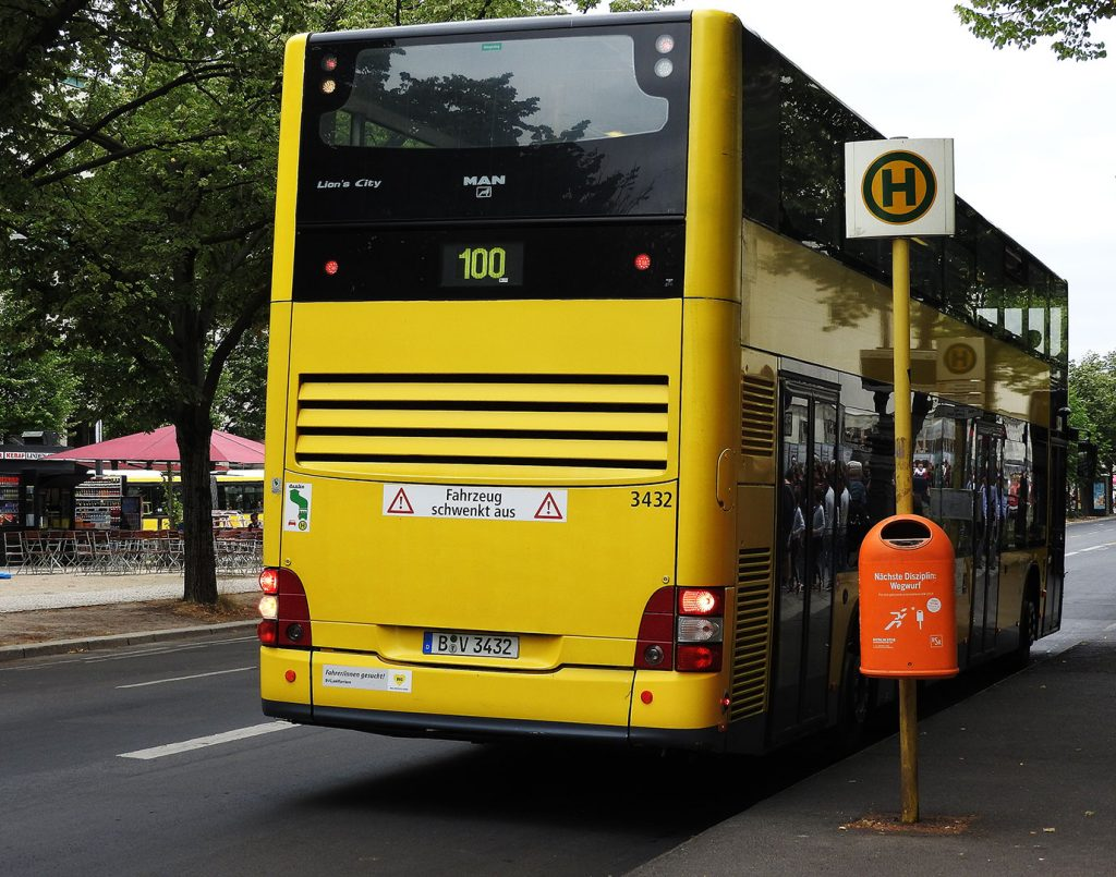 Berlin's Cheapest Sightseeing Tour Departs Every Ten Minutes on Bus #100