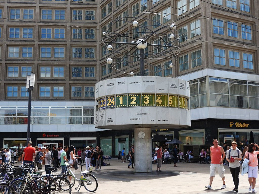 Berlin Sightseeing on Bus #100 - Alexanderplatz