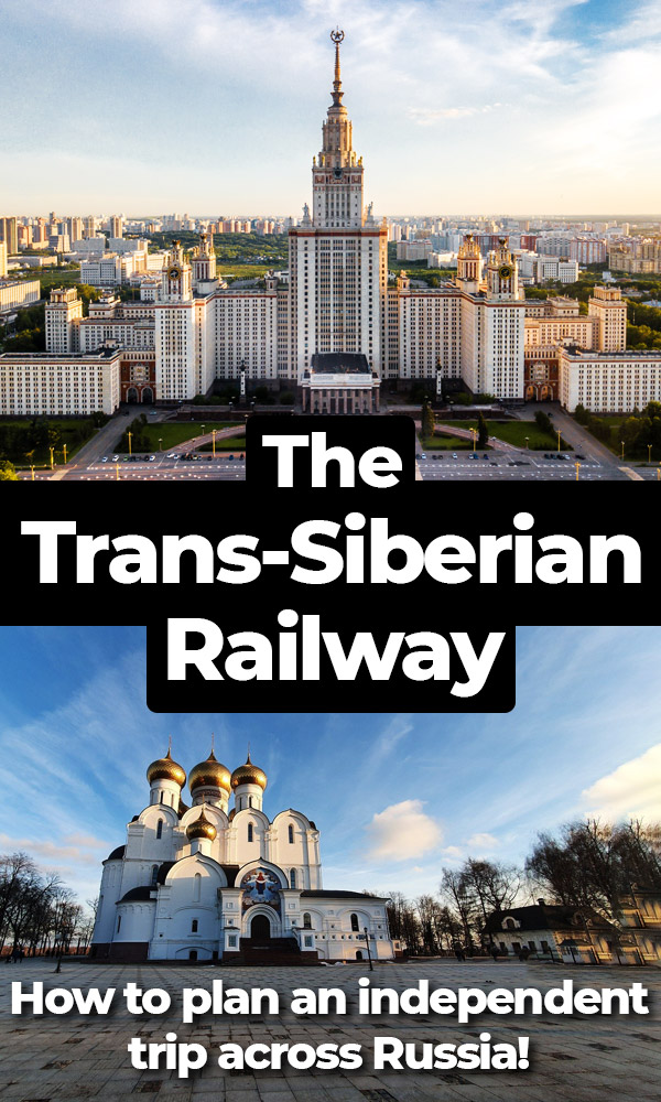 You can travel across Russia on the Trans-Siberian Railway, stopping only where you want and traveling at your own pace.  You don't even have to speak Russian! This guide explains how to plan an independent Trans-Siberian Railway adventure the easy and cheap way!