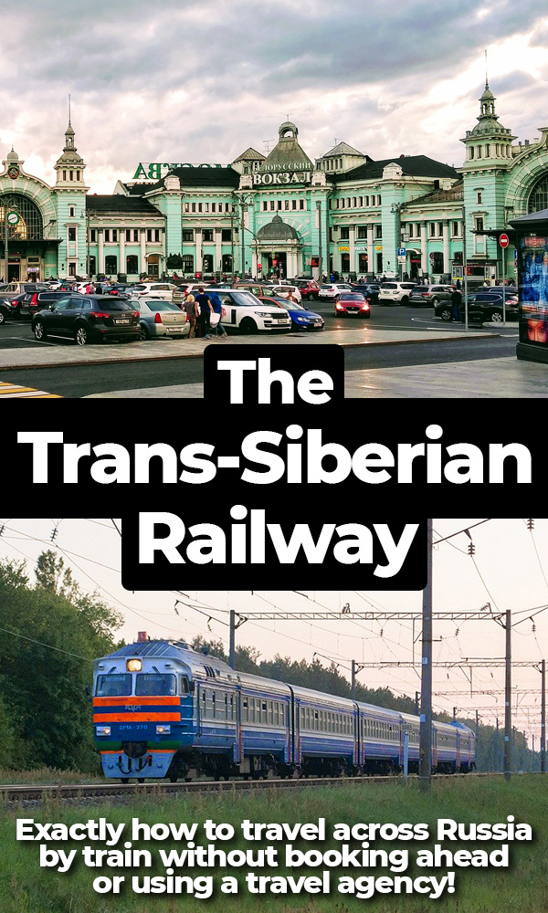 Exactly how to plan your own epic Trans-Siberian Railway journey across Russia. Includes information about budgets, tickets, visas and life on board a Russian train. No Russian language skills required!