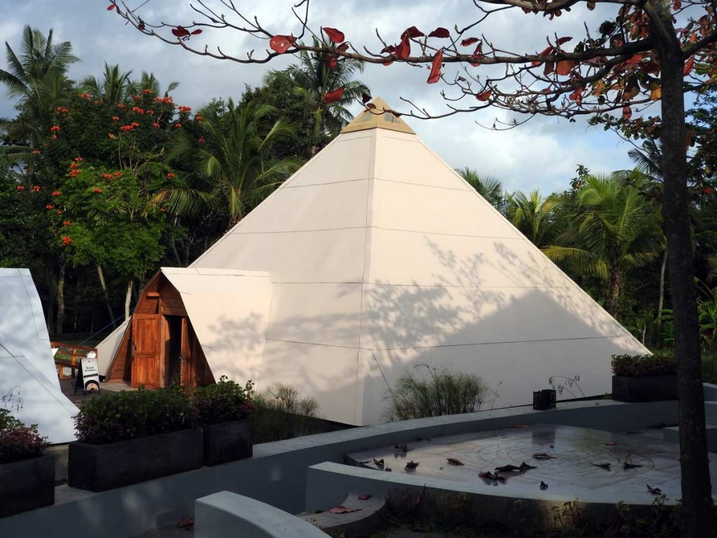 Sound Healing at Pyramids of Chi, Ubud, Bali