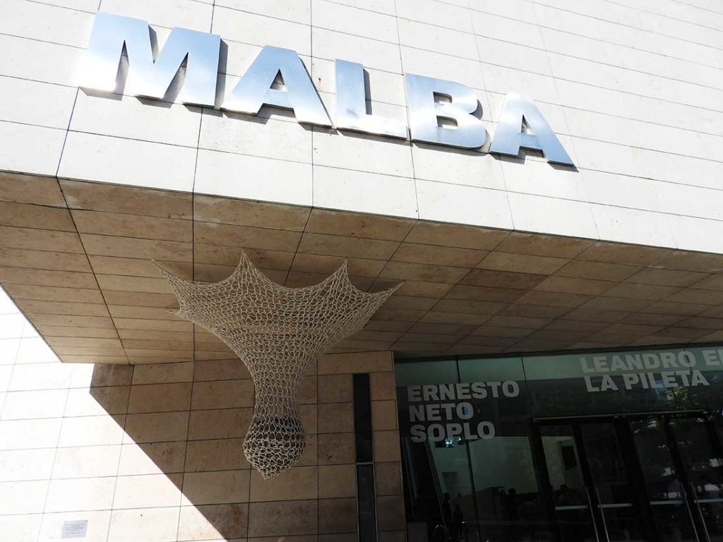 MALBA Museum in Palermo, Buenos Aires