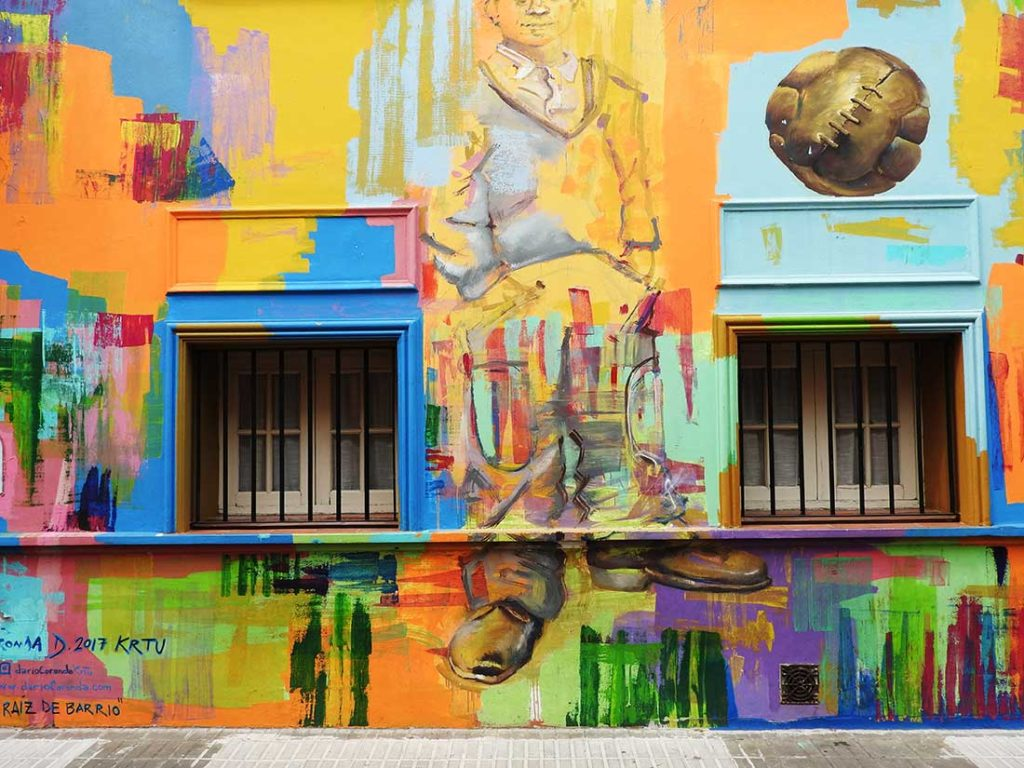 Colorful Street Art in Palermo, Buenos Aires