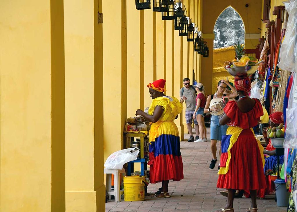 Afro-Caribbean Culture in Colorful Cartagena