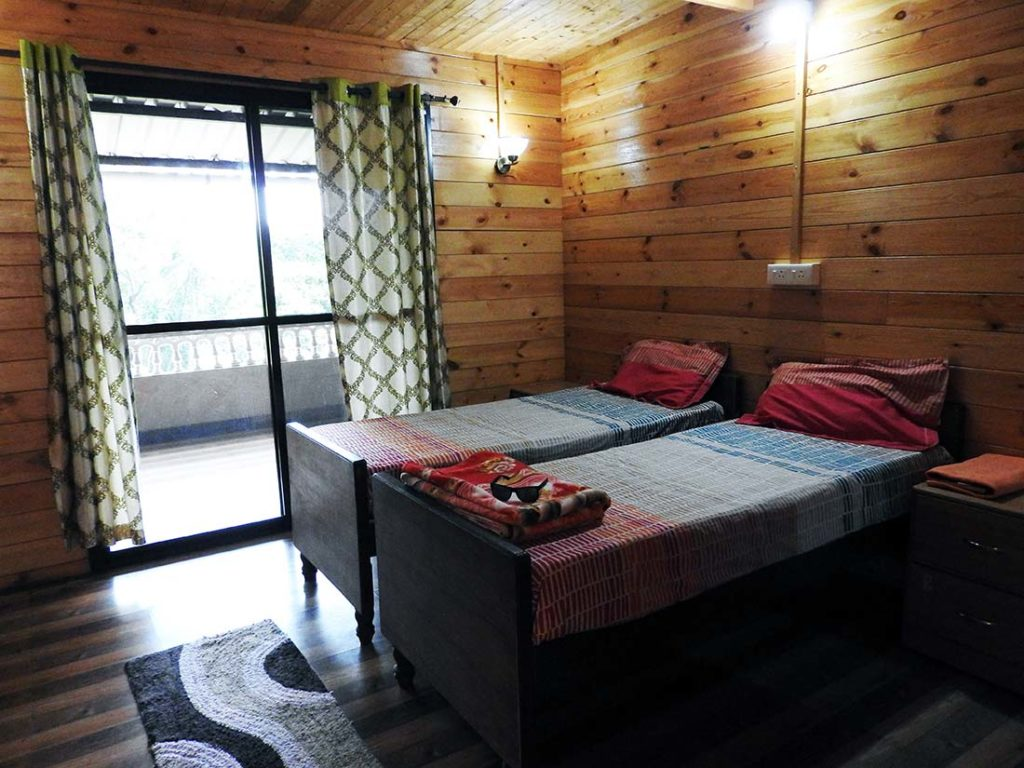 Private Room at Lotus Nature Cure in Goa