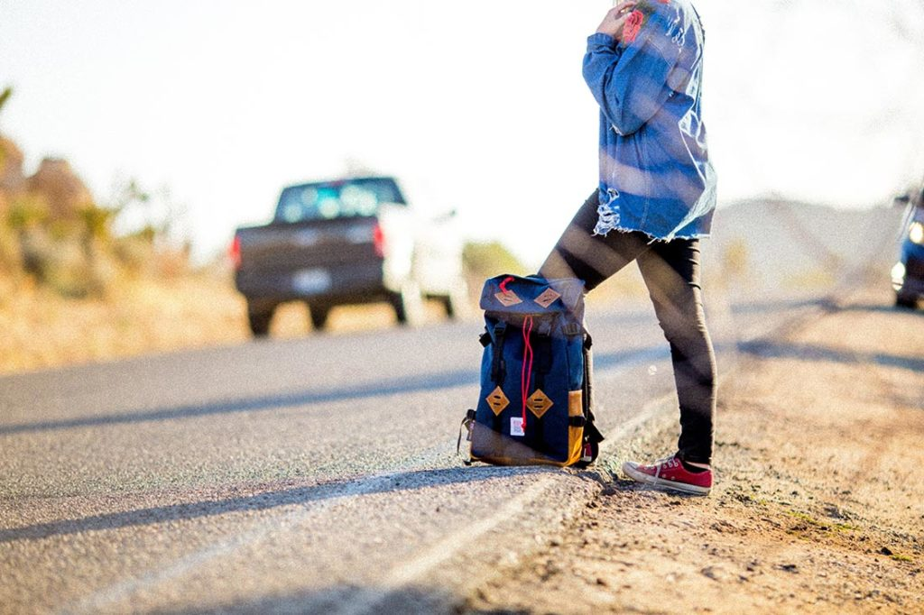 hitchhiking is not a plan