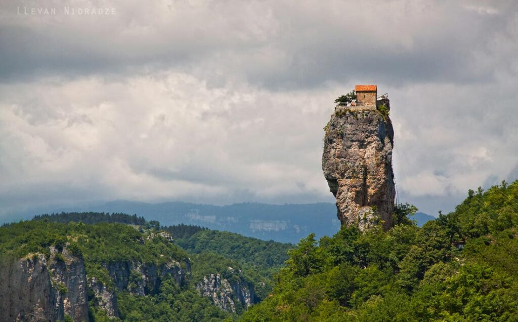 Katskhi Pillar Georgia Alternative Destination