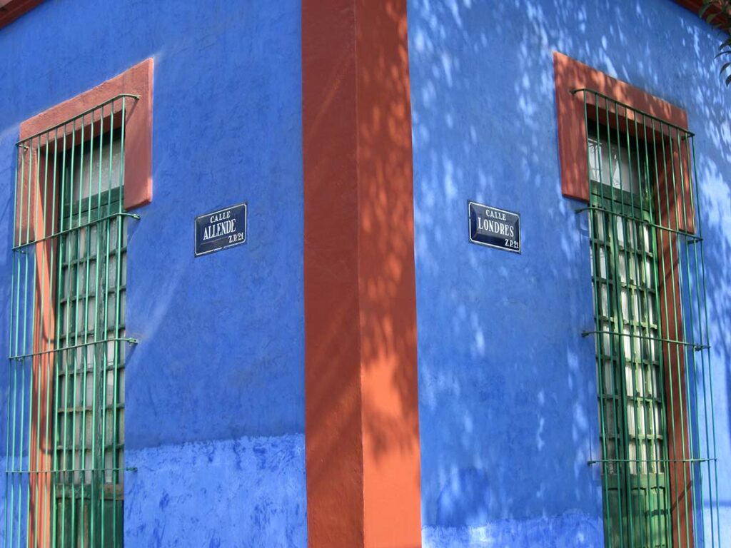 Casa Azul Mexico City - Frida Kahlo's Home