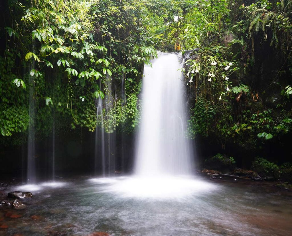 Alternative Destination for Waterfall Viewing - Bali, Indonesia