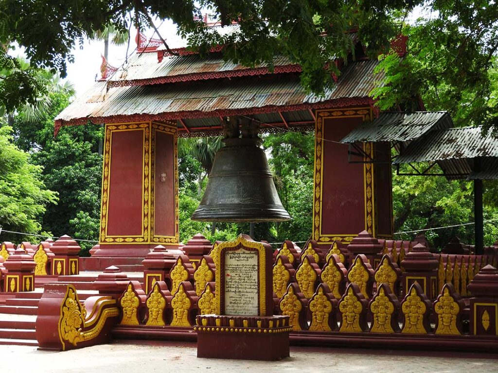 Bells at Myanmar's Buddhist Temples