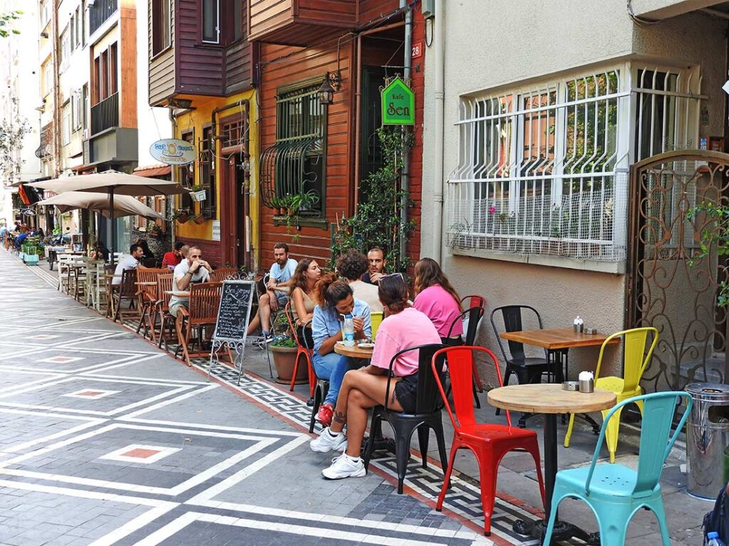Coffeeshops and Cafes in Kadikoy and Moda, Istanbul