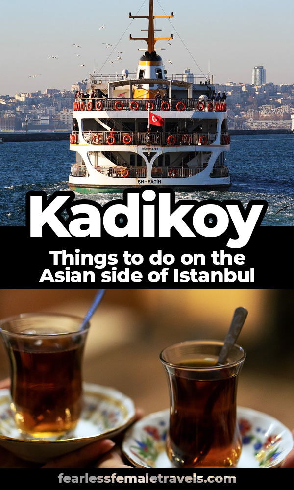 There is so much to see in Istanbul on the Asian side of the city. When you travel to Turkey, don't miss Kadikoy and Moda, two beautiful, trendy neighborhoods with many things to do, like museums, shopping, eating and Turkish cultural experiences!