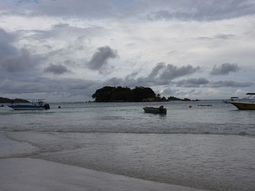 Unedited Photo of Seychelles Beach