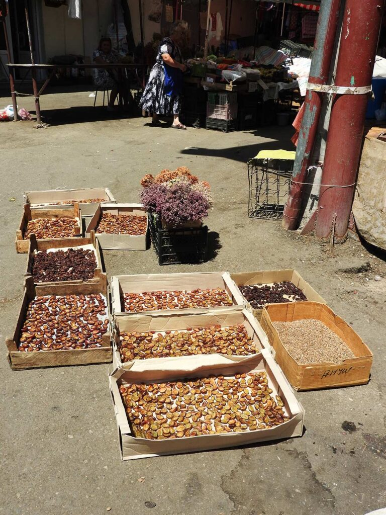 Drying Fruits in the Stepanakert Market