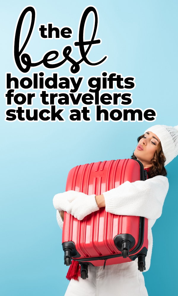 The best gifts for travel lovers who are stuck at home this Christmas. Capture the spirit of Christmas and the spirit of travel for the 2020 holiday gift-giving season!