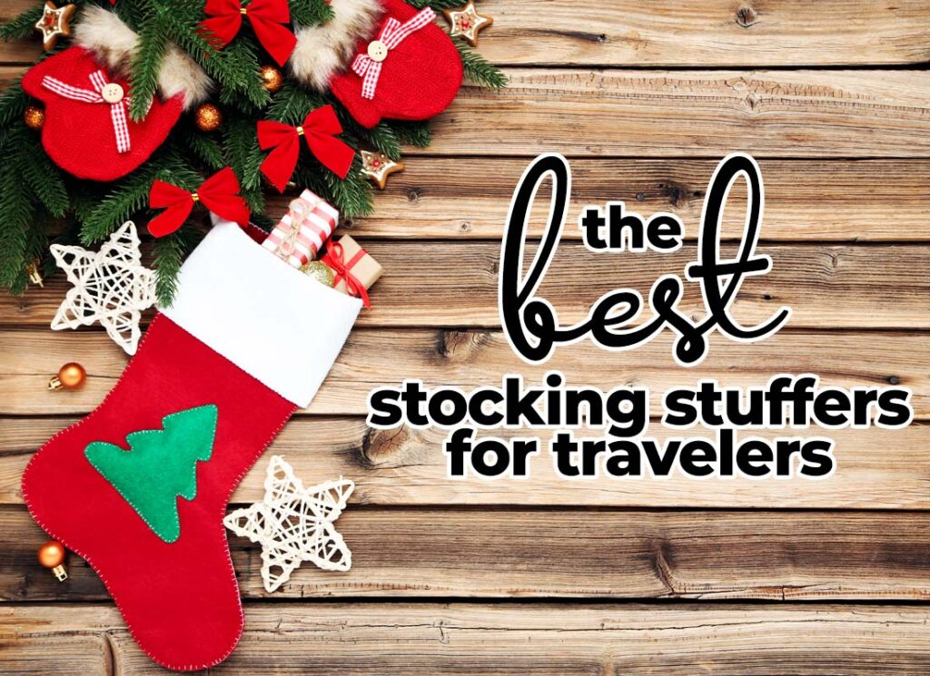 The Best Stocking Stuffers for Travelers in 2020 | Small, packable, lightweight, useful travel gifts.