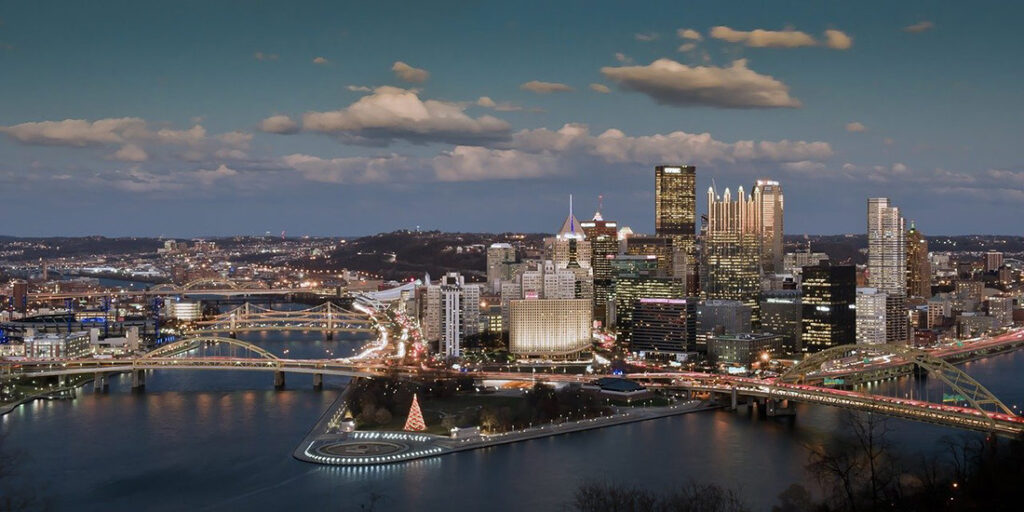 Pittsburgh Pennsylvania is a Top US Travel Destination in 2021