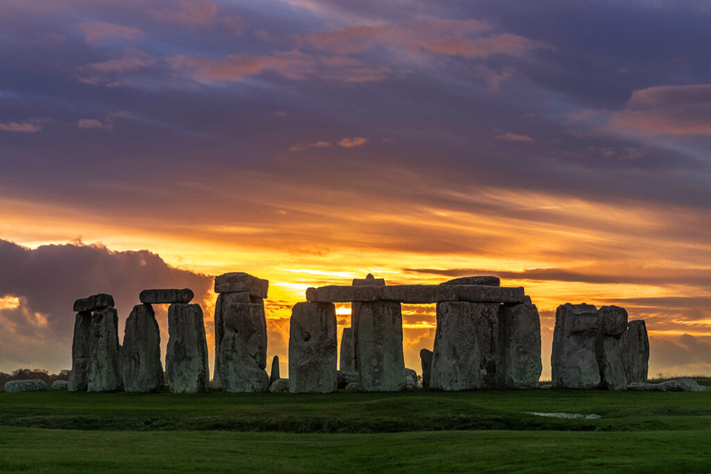 2021 Horoscope for Pisces Travelers - Explore the mysticism of the world, like the sunrise over Stonehenge.