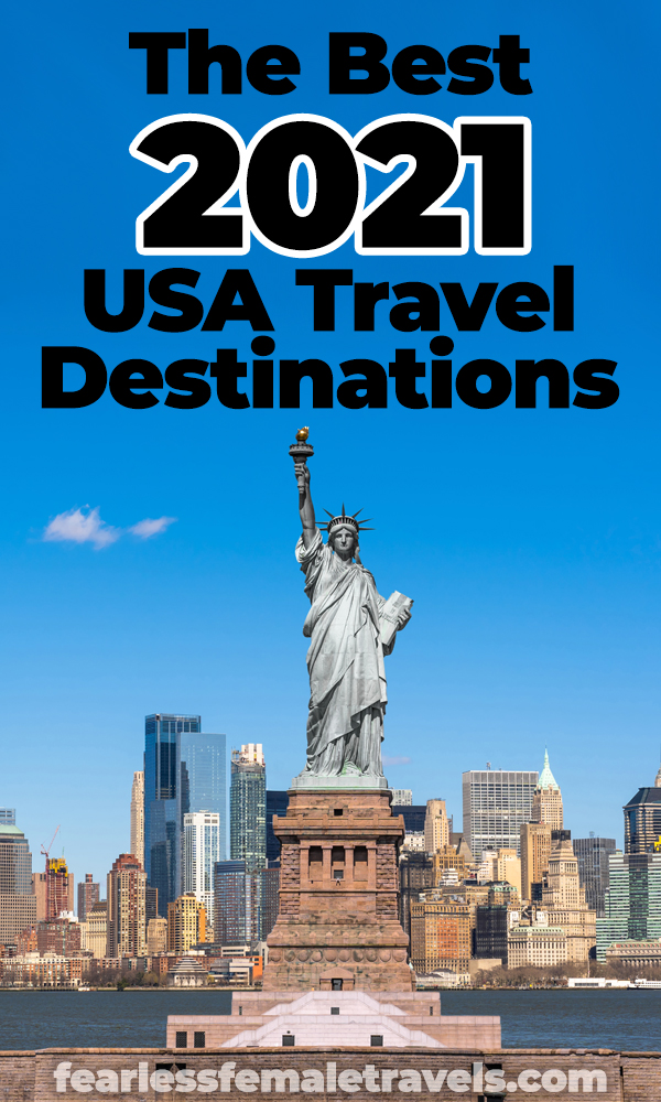 The best USA travel destinations for 2021 include New York City, California, Hawaii and some hidden gems too! Where will you travel in 2021?