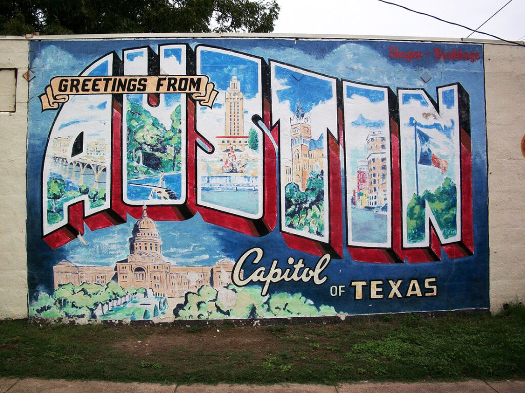 Is Austin, Texas one of the top US travel destinations for 2021?