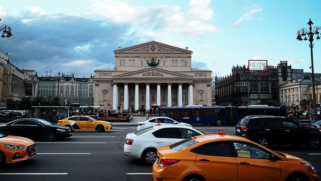 Bolshoi Theater in Moscow Russia