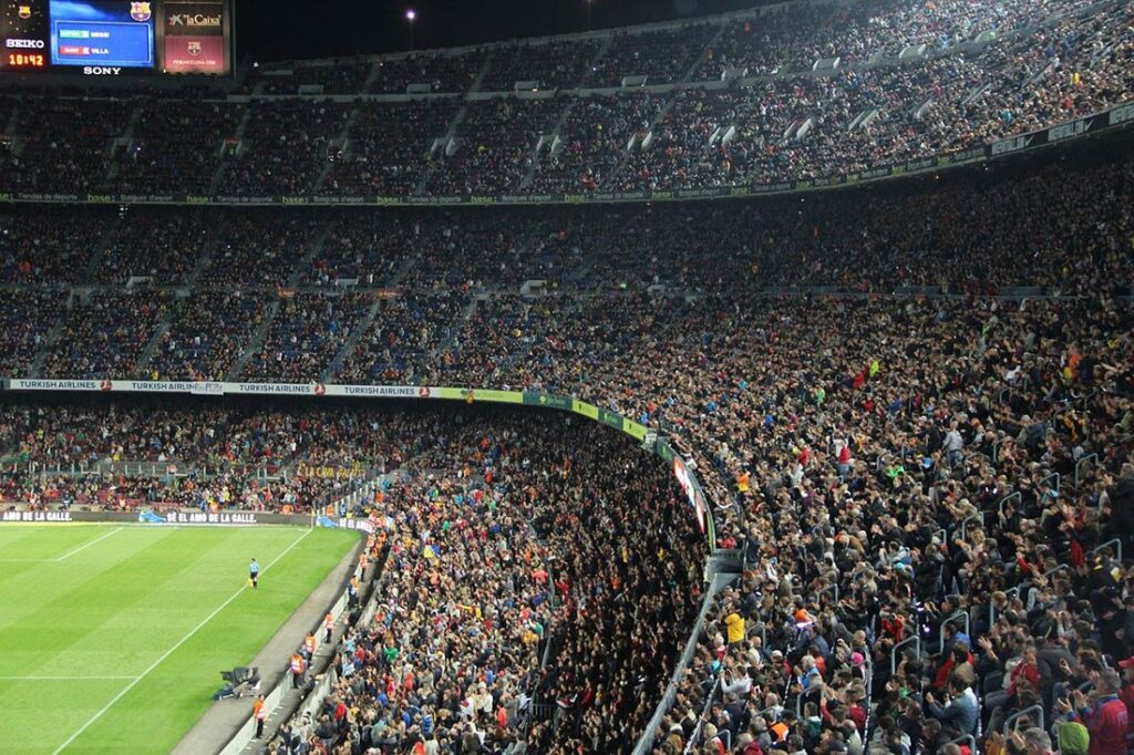 Camp Nou Barcelona Futball Stadium