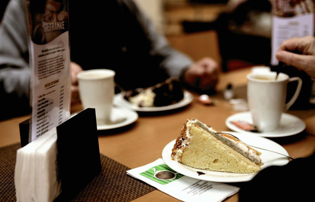 Coffee and Cake or Kaffee und Kuchen in Berlin