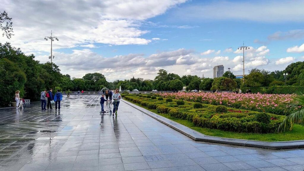 Gorky Park in Moscow Russia