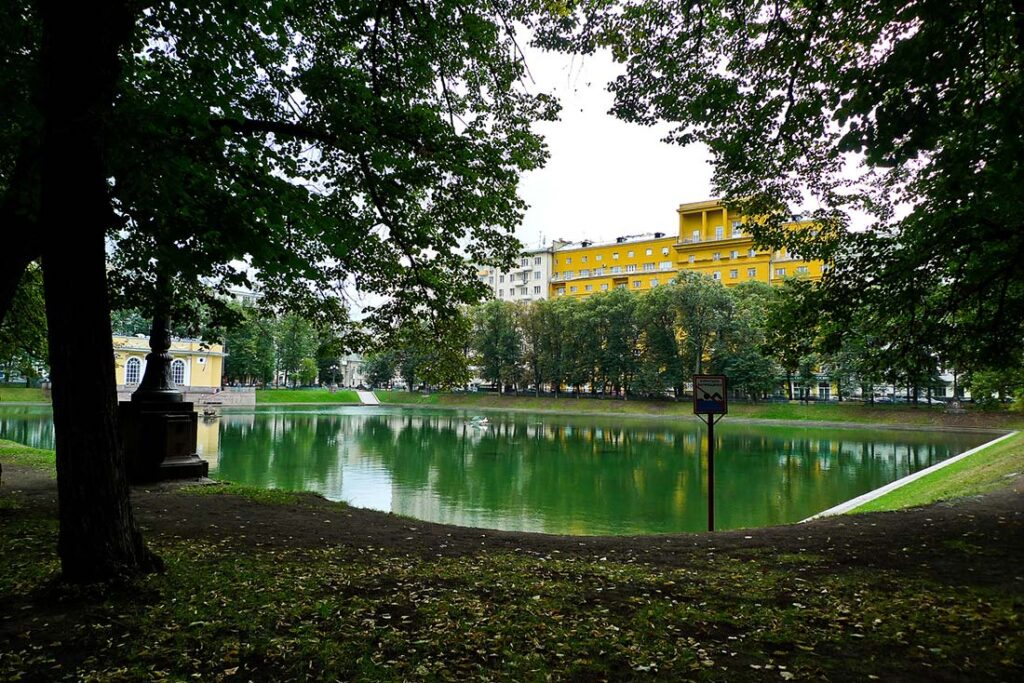 Things to Do in Moscow- Visit Patriarchs Ponds
