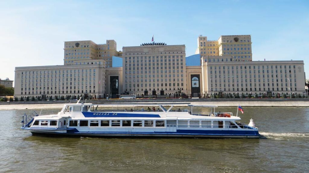 River Cruise in Moscow Russia
