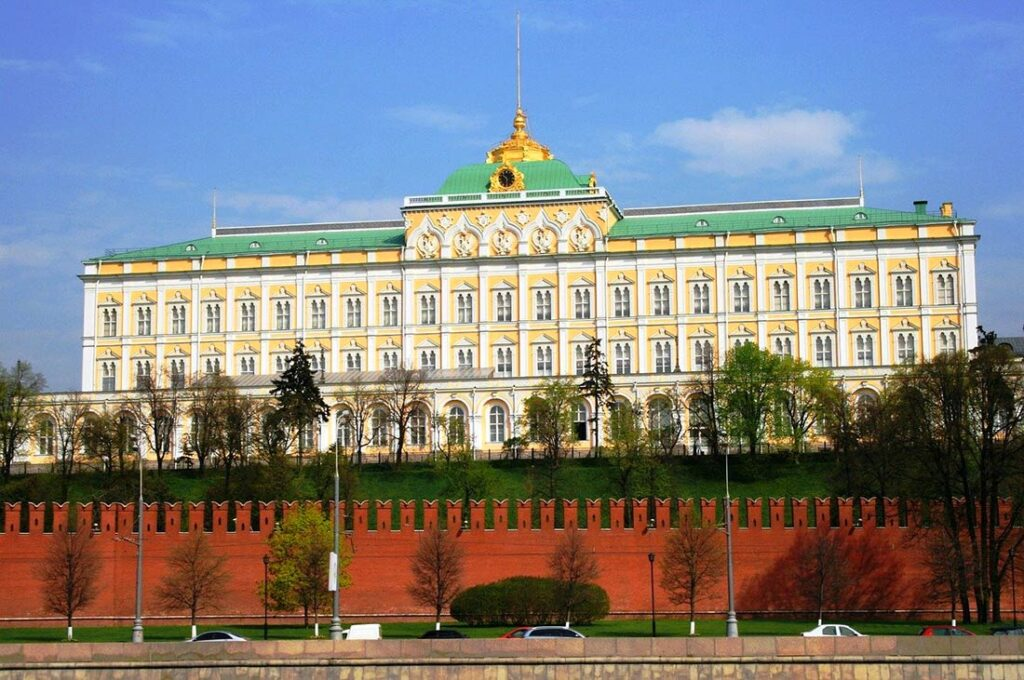 The Kremlin in Moscow Russia