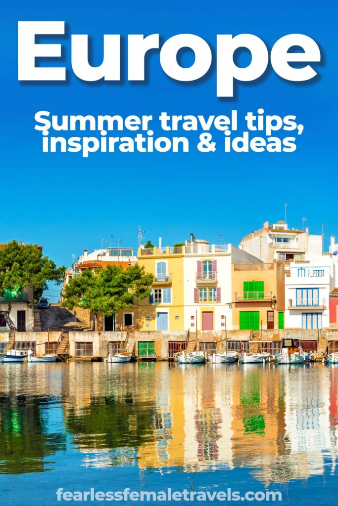 Europe Summer Travel Ideas - Europe destinations including Germany, Italy, Spain, Georgia and Russia for summer vacation trips.