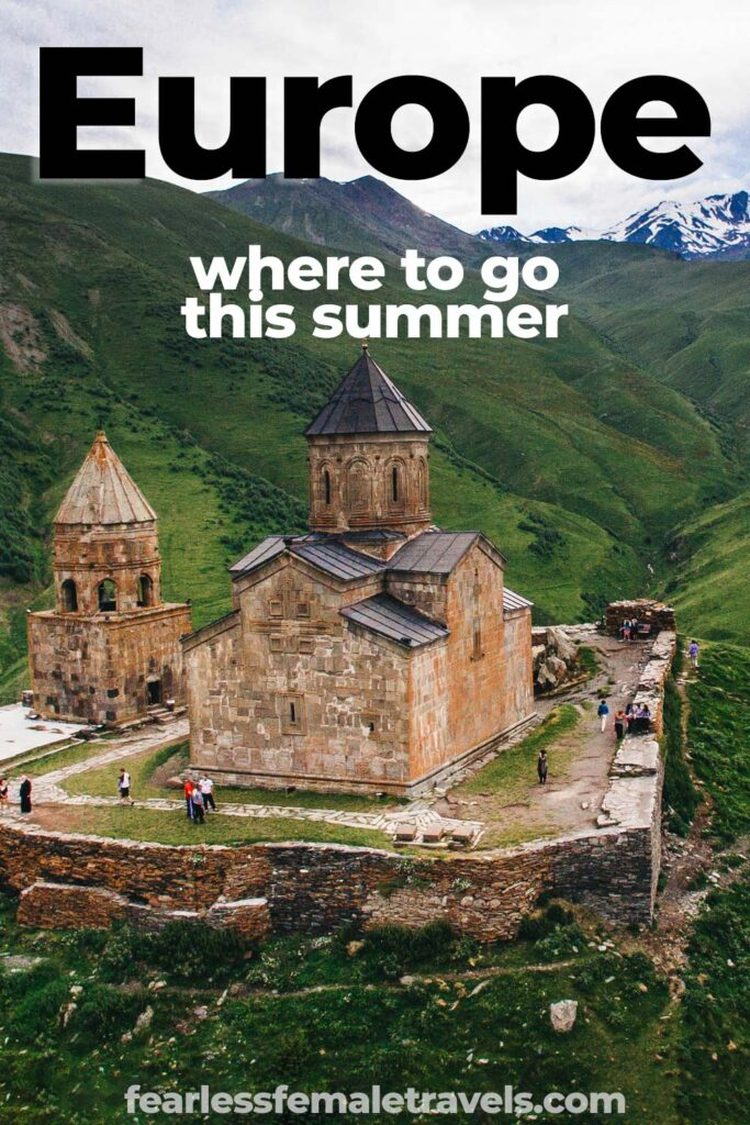 Europe Summer Travel - Destinations you might not have considered visiting in Europe this summer, including Georgia, Russia, Spain, Italy and more. With tips on hotels, transportation, budgeting and more for your Eurotrip!