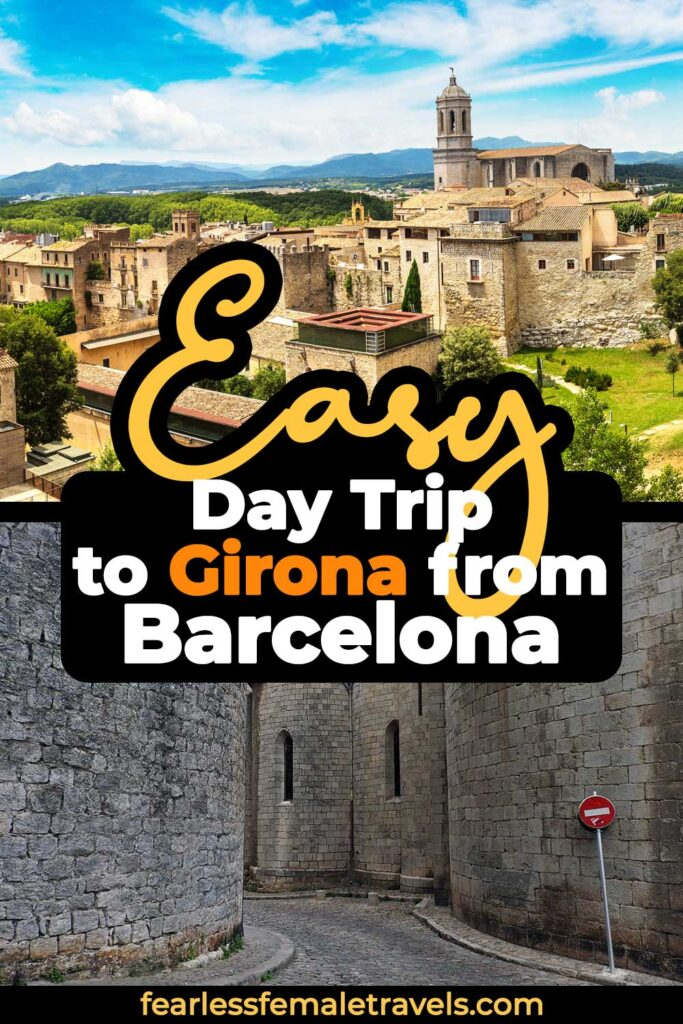 Girona is an easy day trip from Barcelona, Spain via high speed or regional train. Explore this historical small town, where scenes from Game of Thrones were filmed, to experience ancient history travel!