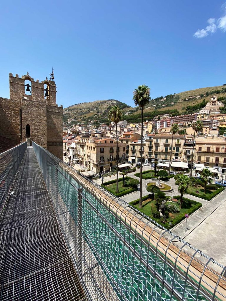 The Terrace at the Cathedral of Monreale Catedrale Terrazzas