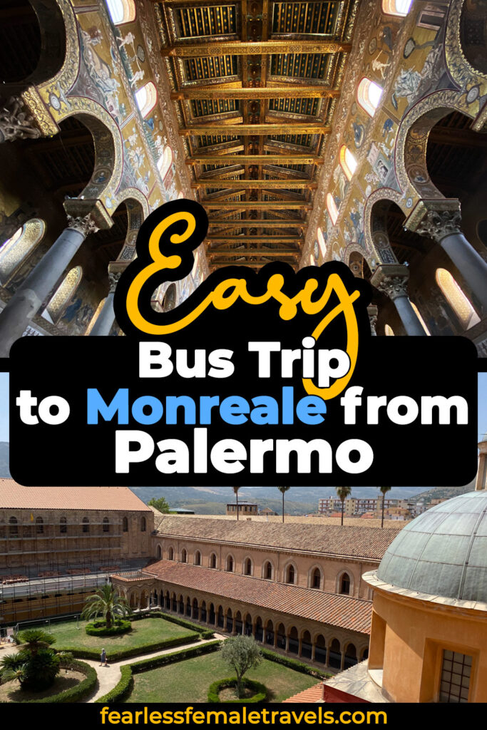It's easy to take a day trip from Palermo to Monreale by bus. This guide explains exactly how to get there and what to expect when you arrive in Monreale, Sicily, Italy.