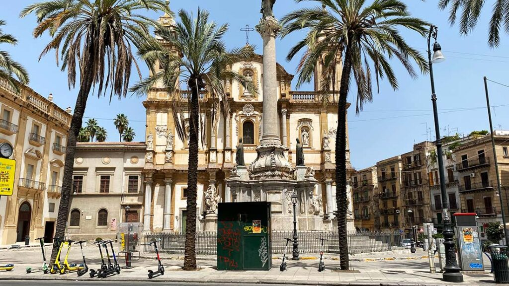 Sicily Itinerary Without a Car   Palermo