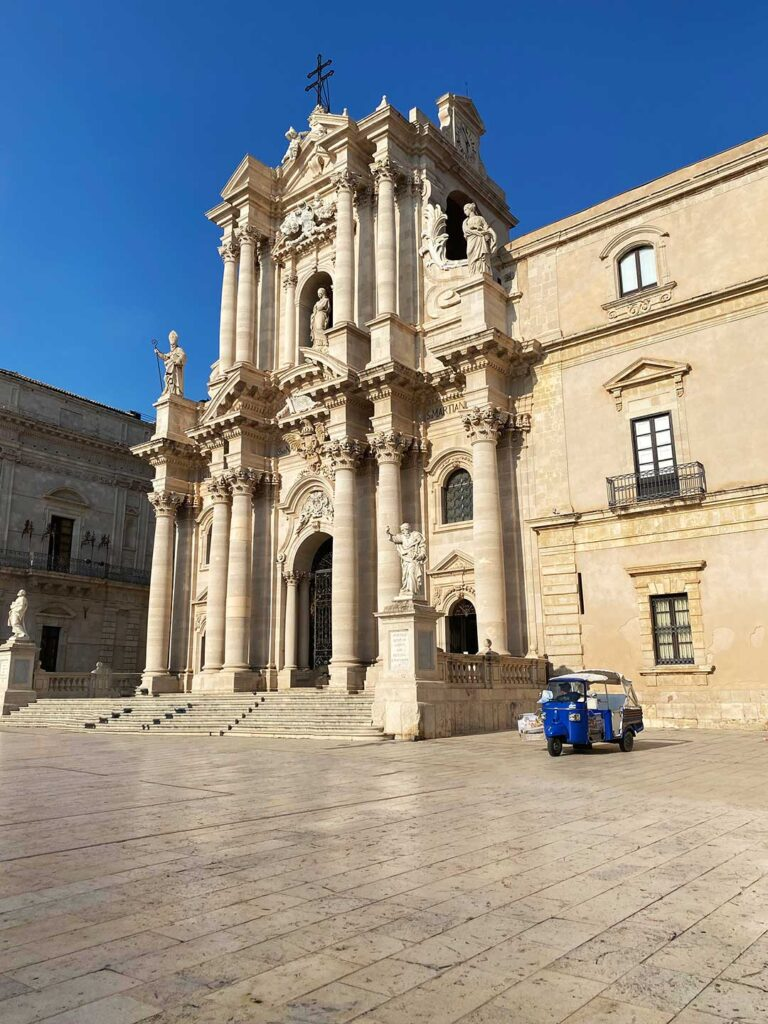 Historic Center of Siracusa on a Sicily Itinerary
