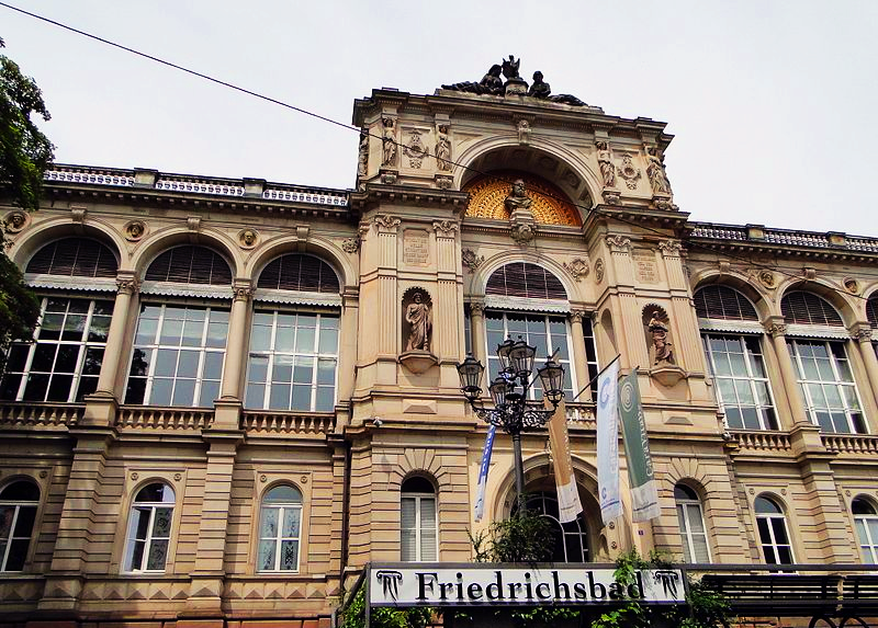 The Friedrichsbad Spa in Baden-Baden Germany