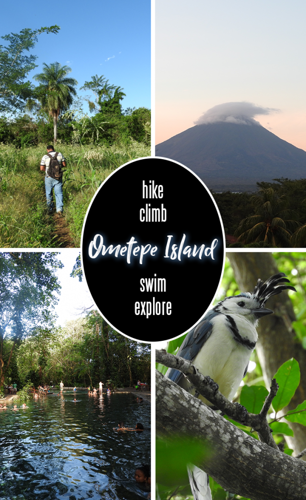 Adventure awaits travelers who venture to Ometepe Island in Nicaragua, where ecotourism options include kayaking, hiking and birdwatching.