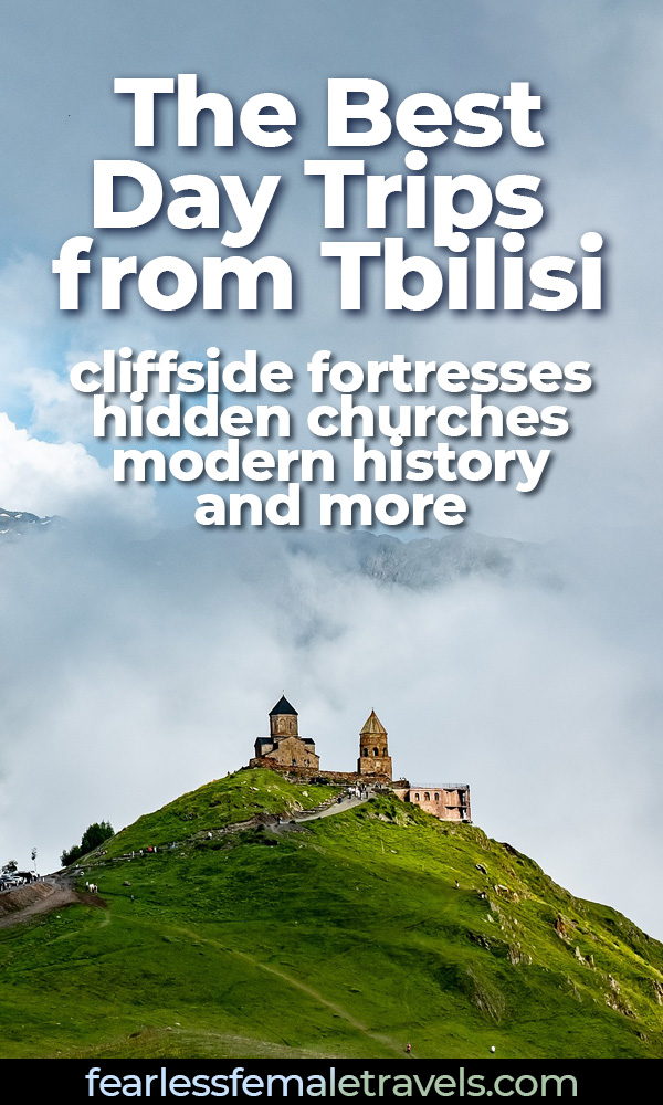 The most memorable day trips from Tbilisi to destinations like Gergeti Trinity Church, Ananuri Fortress and Gori (home to the famous Stalin Museum). Don't miss these day trips when you're in Georgia!