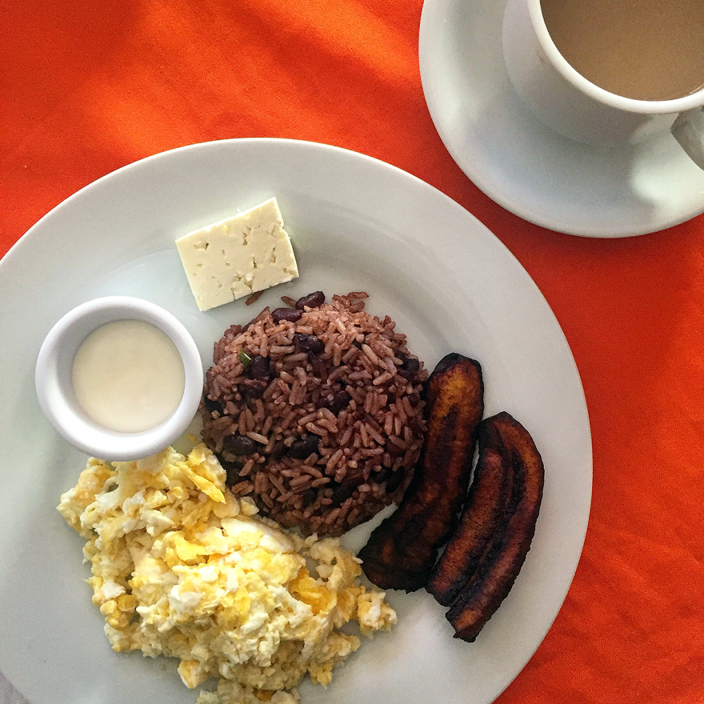 A Typical Nica Breakfast in Nicaragua