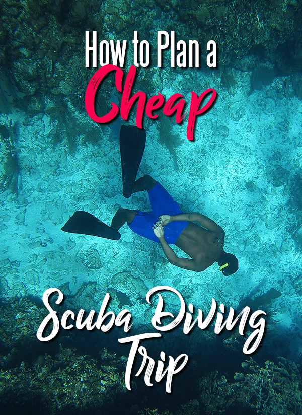 How to Plan a Cheap Scuba Diving Trip