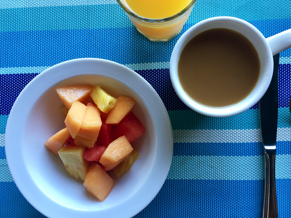 Cocolobo Hotel Breakfast Fruit Yogurt Granola