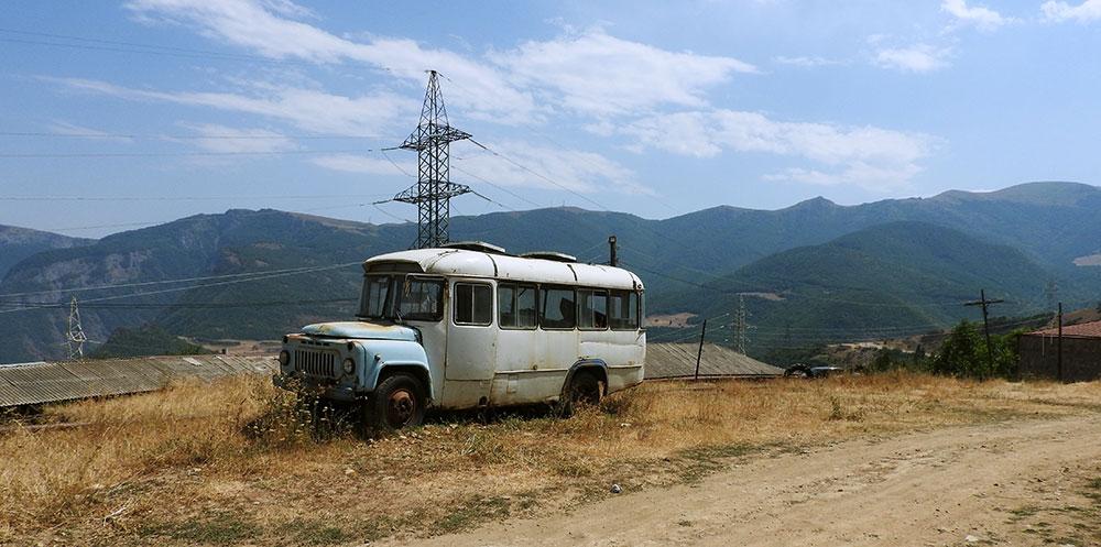 Tatev Armenia Bus