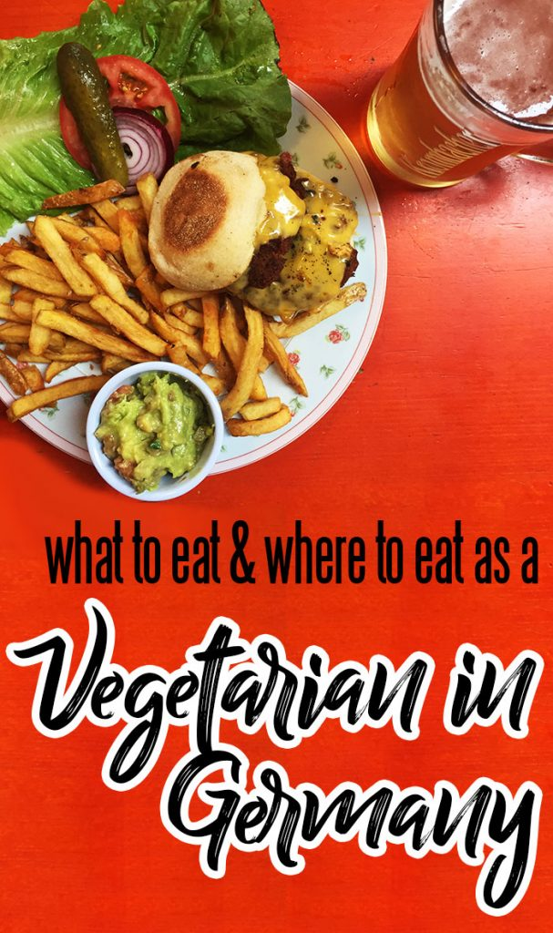 Vegetarian in Germany - What to Eat and Where to Eat