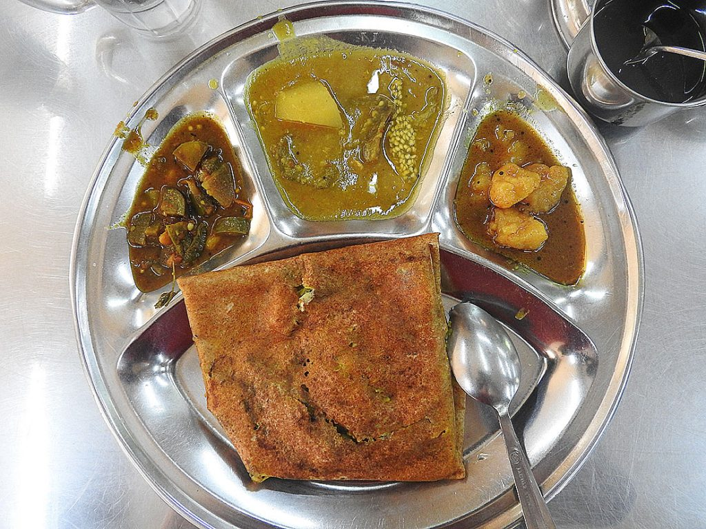 Indian Vegetarian Food in Yangon, Myanmar