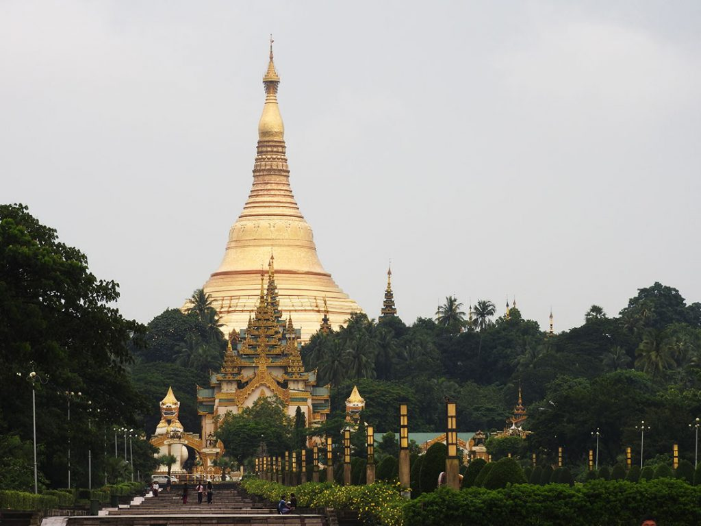 Shwedagon Myanmar Yangon Travel